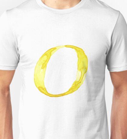 Alphabet O Unisex T-Shirt