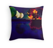 WORLDS AT WAR Throw Pillow