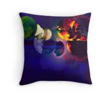 ARMAGEDON IS FINAL Throw Pillow