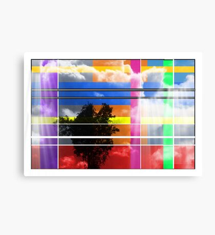 Heaven Is Gift Wrapped - Abstract Canvas Print