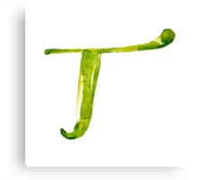 Alphabet T Canvas Print