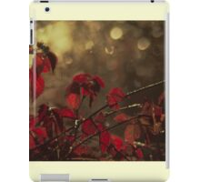 Autumn Dew Drops iPad Case/Skin