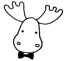 Dapper Moose by caraboo142