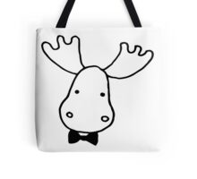 Dapper Moose Tote Bag