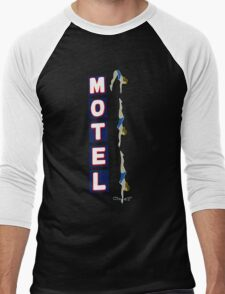 Motel Sign Men's Baseball ¾ T-Shirt