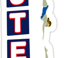 Motel Sign Sticker
