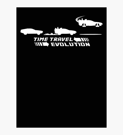 Time Travel Evolution Photographic Print