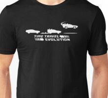 Time Travel Evolution Unisex T-Shirt