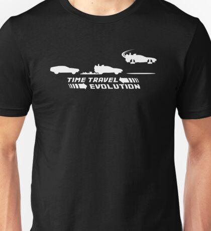 Time Travel Evolution Unisex T-Shirt