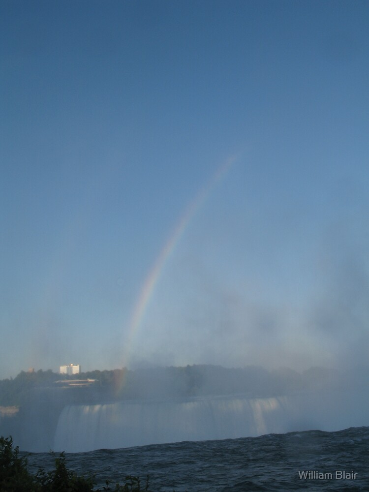 Rainbow over the Falls by William Blair