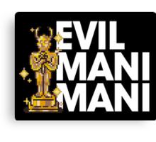 Evil Mani Mani statue Canvas Print