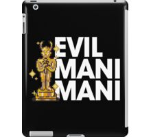 Evil Mani Mani statue iPad Case/Skin