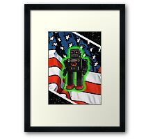 Vote Robot Framed Print