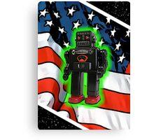 Vote Robot Canvas Print