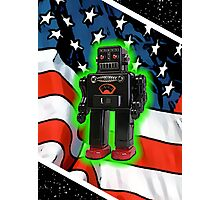 Vote Robot Photographic Print