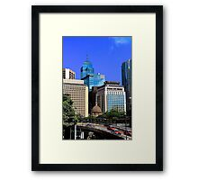 City of Colors II - Hong Kong. Framed Print