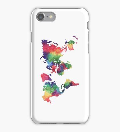 World Map iPhone Case/Skin