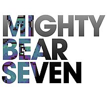 Mighty Bear Seven Photographic Print