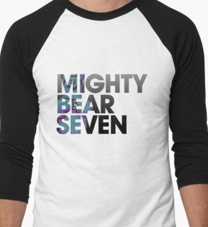 Mighty Bear Seven Men's Baseball ¾ T-Shirt