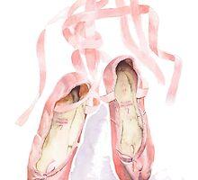 Ballet slippers by bridgetdav