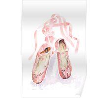 Ballet slippers Poster