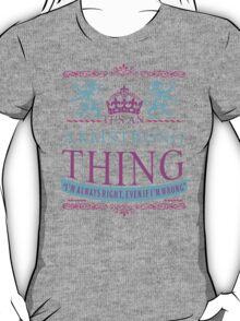 It's an ARMSTRONG Thing T-Shirt