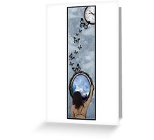 Looking out Greeting Card