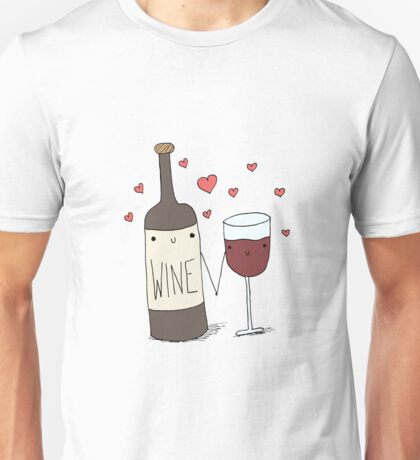 Wine Lovers Unisex T-Shirt
