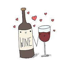 Wine Lovers by cuddlesandrage