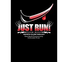 Just Run! Photographic Print