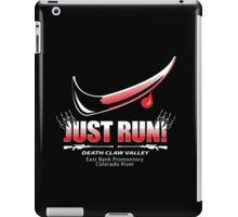 Just Run! iPad Case/Skin