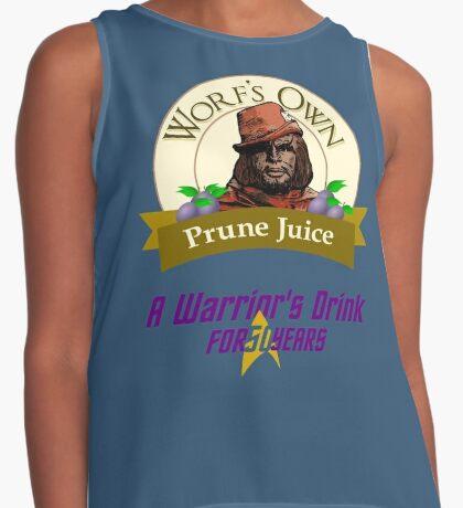 Worf's Own Prune Juice - A Warrior's Drink Contrast Tank