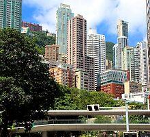 City of Colors III - Hong Kong. by Tiffany Lenoir