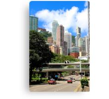 City of Colors III - Hong Kong. Canvas Print
