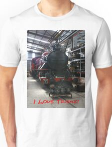 I Love Trains T-Shirt