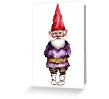 Alfred the gnome Greeting Card