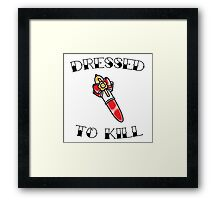 Magical Girl Series: Dressed to Kill - Fancy Lala Framed Print