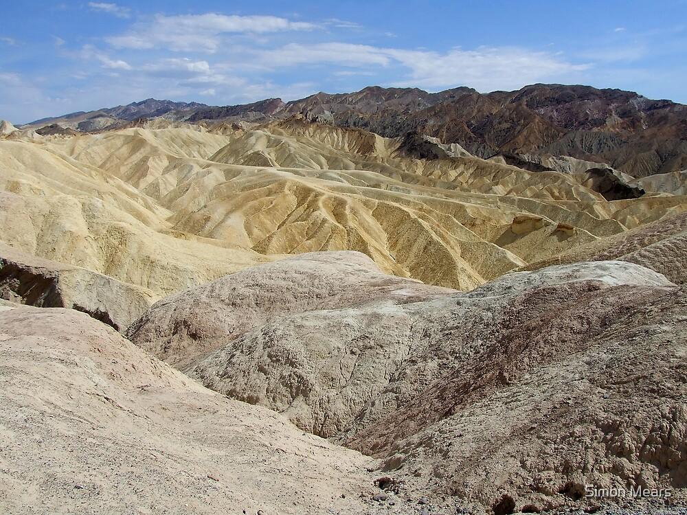 Zabriskie Point, California / Nevada by Simon Mears