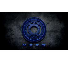 Blue Lantern Photographic Print