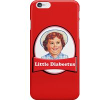 Little Diabeetus - little Debbie parody iPhone Case/Skin