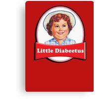 Little Diabeetus - little Debbie parody Canvas Print