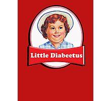 Little Diabeetus - little Debbie parody Photographic Print