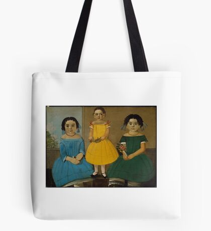 Three Sisters of the Copeland Family William Matthew Prior (American,  Tote Bag
