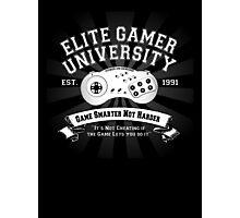 Elite Gamer University Photographic Print