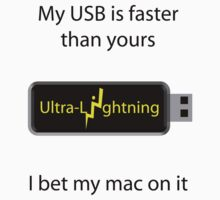 My USB is faster by Thomas Prowse