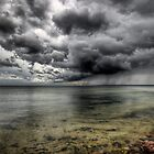 Big storm over Big Calm by Bartek Kuzia