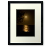 Sandgate Moonlight Framed Print