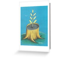 Rebirth Greeting Card