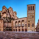 Monastir de Montserrat (Monestary of Montserrat) by Robbie Labanowski
