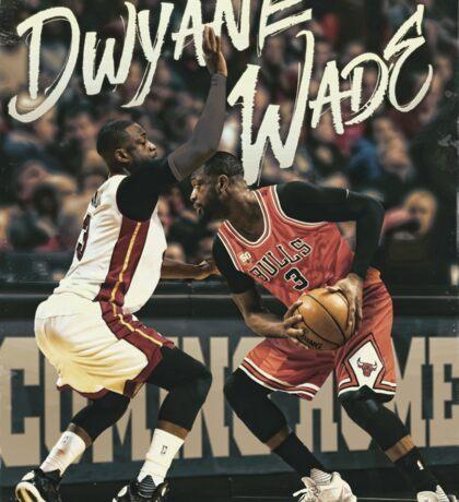 Dwyane Wade Basketball Sports Art Sticker